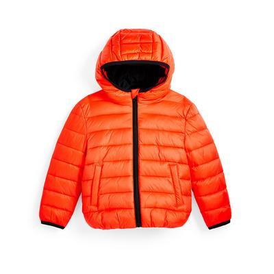 Doudoune orange garçon