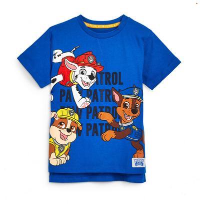 Blauw T-shirt Paw Patrol, jongens