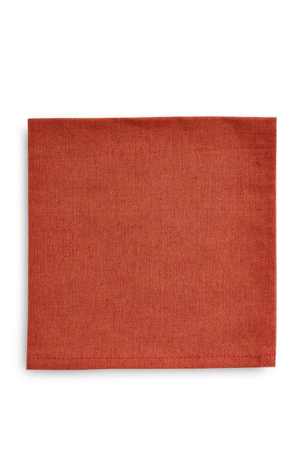 Terracotta linnen servetten