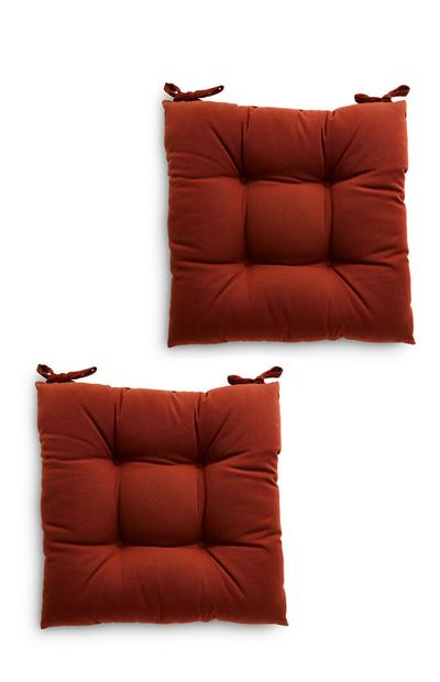 Terracotta Seat Pads 2 Pack