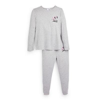 Pyjama gris ultra-doux Disney Minnie Mouse