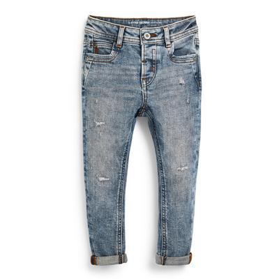 Skinny Jeans in blauer Waschung (kleine Jungen)