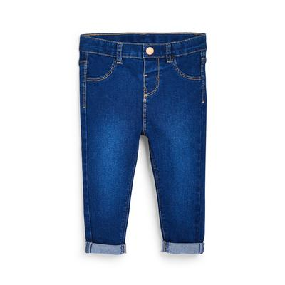 Baby Girl Blue Denim Slim Jeans
