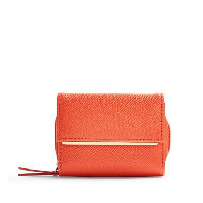 Orange Medium Envelope Purse
