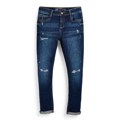 Blauwe skinny jeans voor jongens