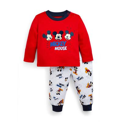 Baby Boy Disney Mickey Mouse Pyjamas Set 2 Piece