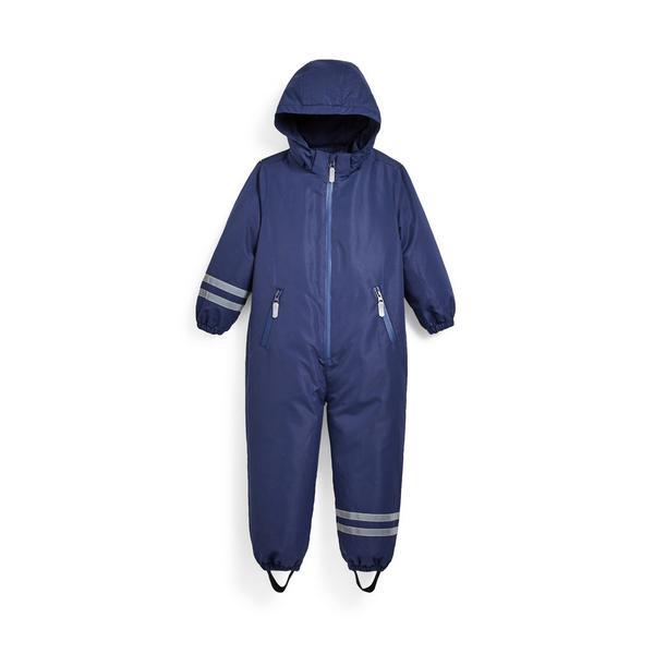 Younger Boy Blue Rain Suit