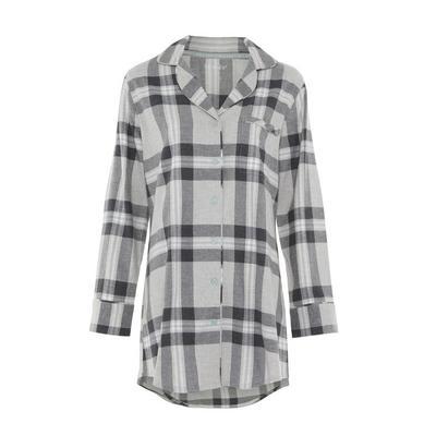 Gray Flannel Nightshirt