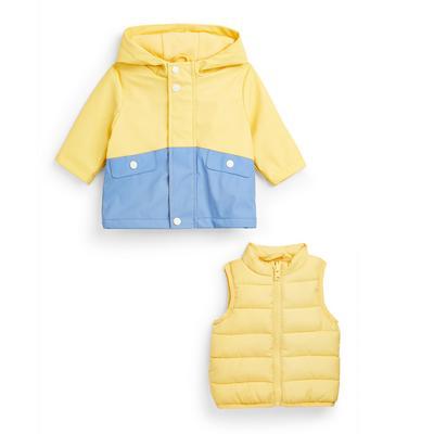 Baby Boy Go Yellow 3-In-1 Jacket Set
