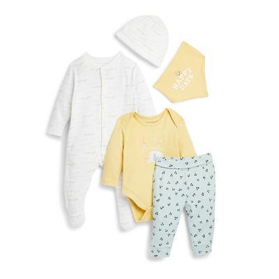 Babyworld-startersetje voor pasgeborenen, 5-delig
