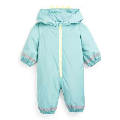 Baby Boy Go Dino Puddlesuit
