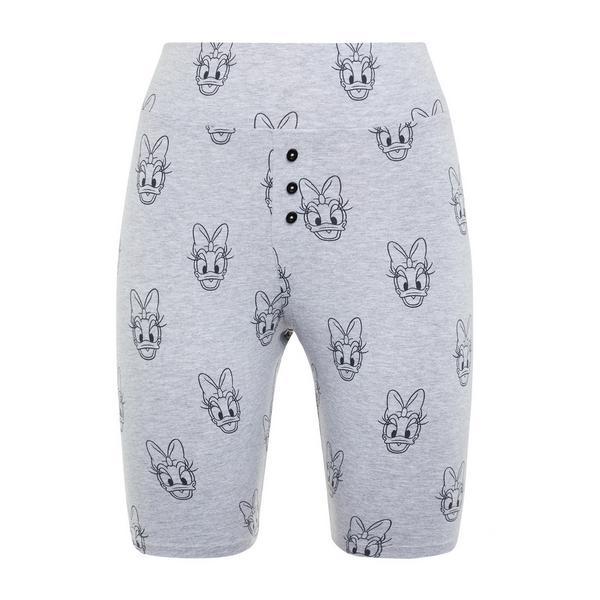 Grey Disney Friends Skinny Shorts