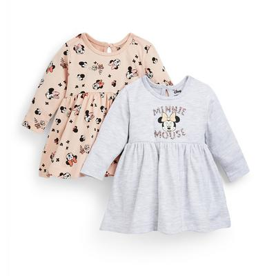 Baby Girl Disney Minnie Mouse Dresses 2 Pack