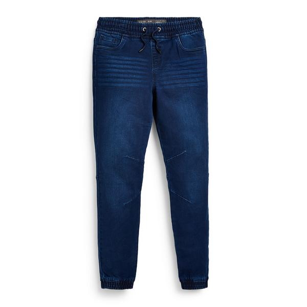 Blaue Denim-Jogginghose (Teeny Boys)