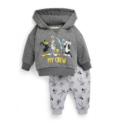 Baby Girl Looney Tunes Leisure Hoodie Suit 2 Piece Set