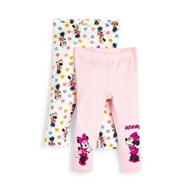Baby Girl Disney Minnie Mouse Leggings 2 Pack