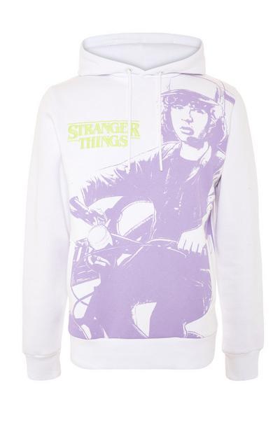 Witte hoodie Stranger Things
