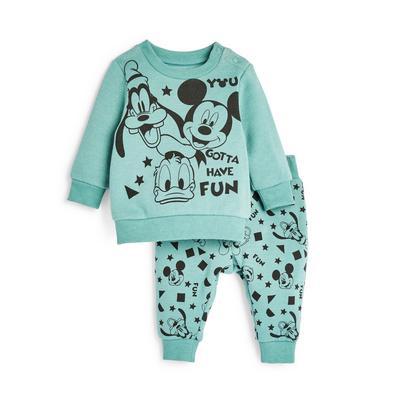 Baby Boy Blue Disney Mickey Mouse Leisure Set