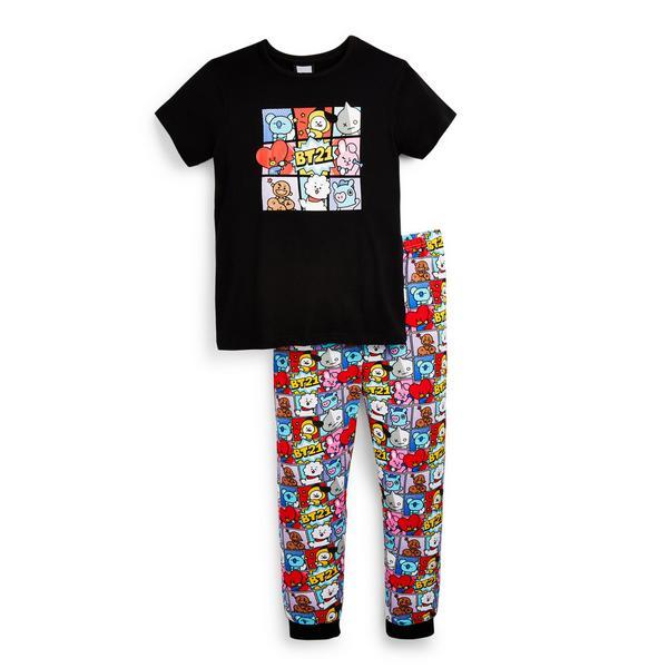 """BT21"" Pyjamaset (Teeny Girls)"