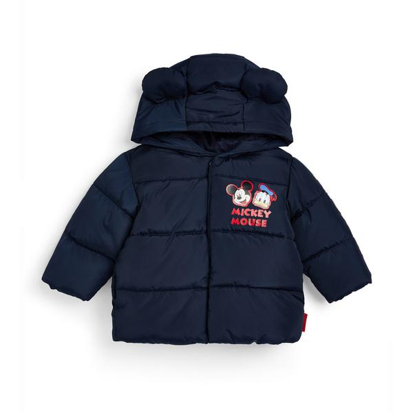 Baby Boy Navy Disney Mickey Mouse Coat