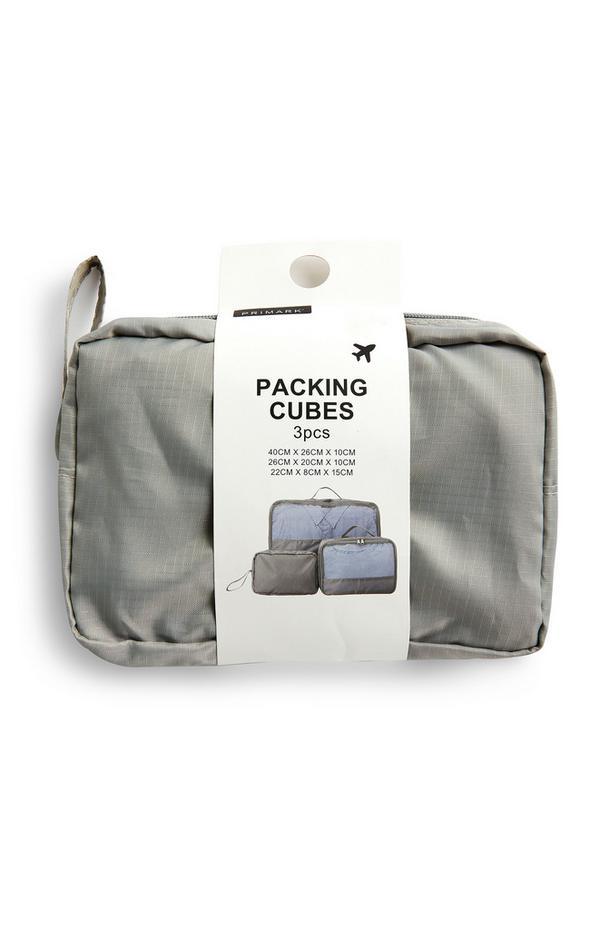 Portabiancheria grigi da bagaglio