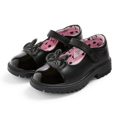 Younger Girl Black Disney Minnie Mouse Shoes