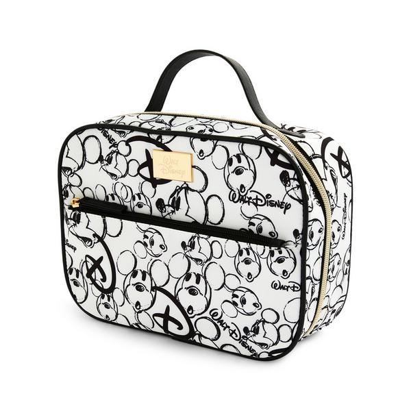 Black/White Nylon Disney Minnie Mouse Vanity Case