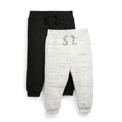 Fantovske hlače za prosti čas različnih barv za dojenčke, 2 para