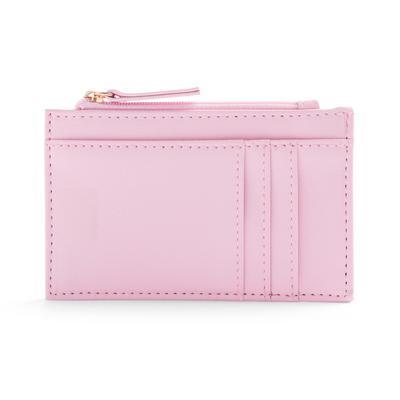 Smooth Pink Cardholder