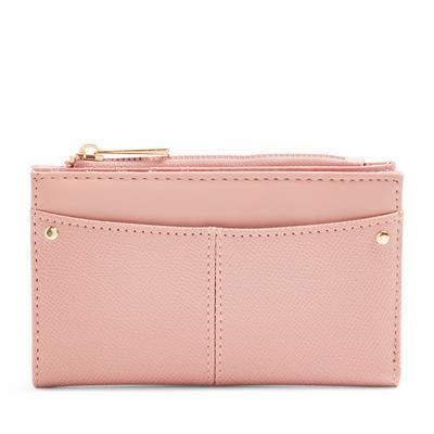 Blush Pink Foldout Medium Wallet