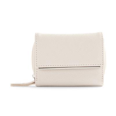 White Clean Medium Envelope Purse