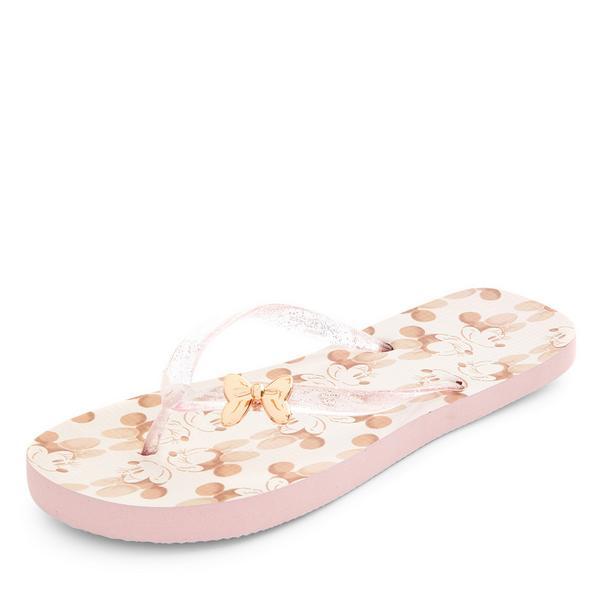 Rožnate japonke Disney Mini Miška