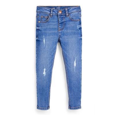 Jean bleu coupe skinny fille