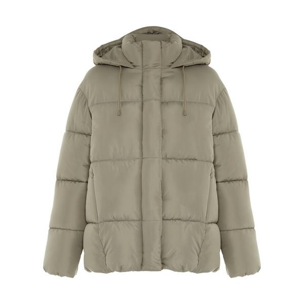 Primark Cares Green Padded Soft Touch Hooded Jacket