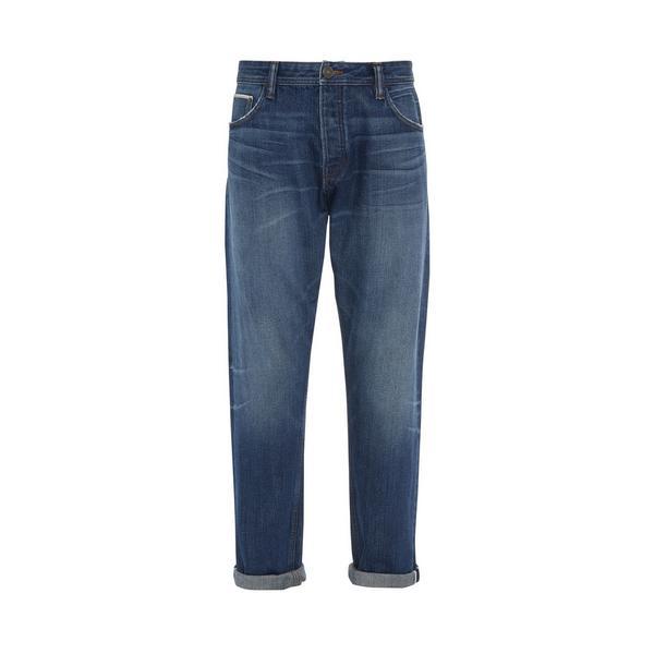 Stronghold-jeans met lichte wassing en relaxte pasvorm