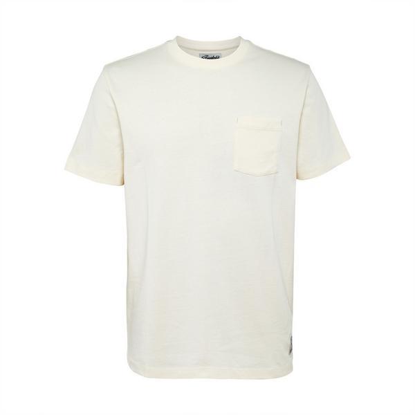 """Elfenbeinfarbenes """"Stronghold"""" T-Shirt mit Tasche"""