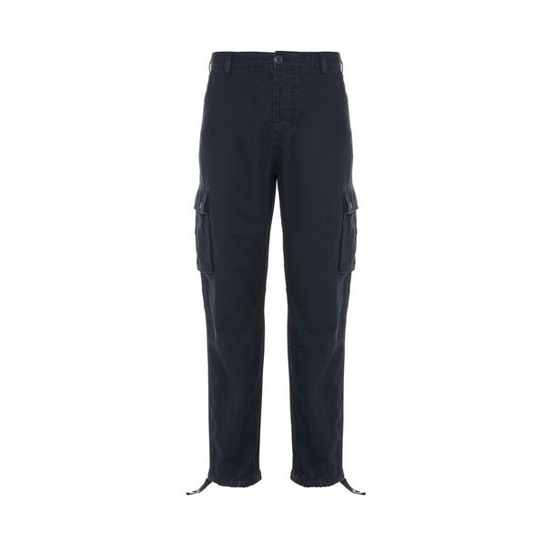Navy Relaxed Stronghold Straight Cargo Pants