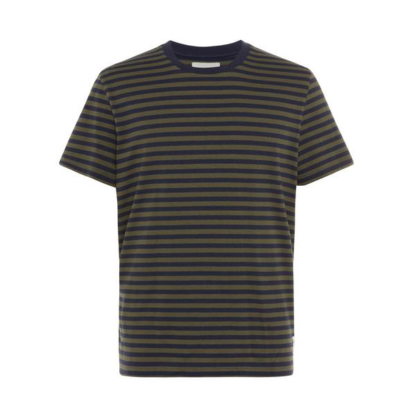 Charcoal Striped Stronghold T-Shirt