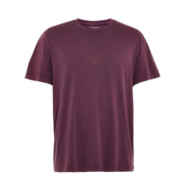 Burgundy Brooklyn T-Shirt