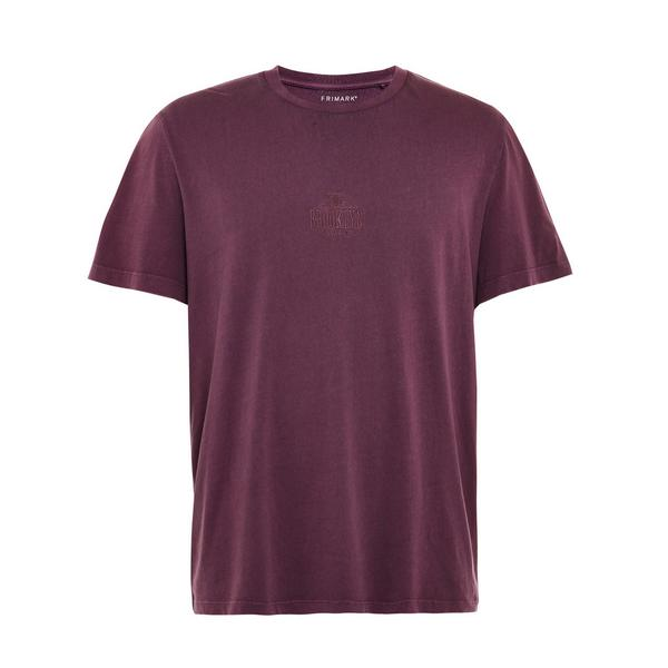T-shirt bordeaux Brooklyn