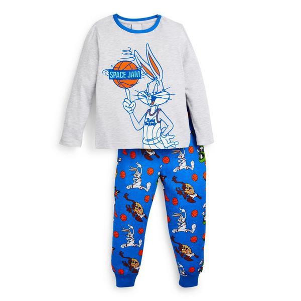 "Blaues ""Space Jam"" Pyjamaset (kleine Jungen)"