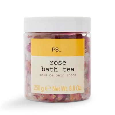 Tarro de té de rosas para bañera de PS