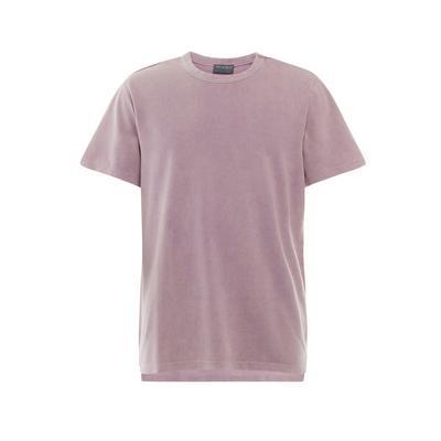 Purple Acid Washed Boxy T-Shirt