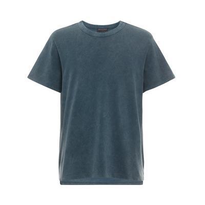 Navy Acid Washed Boxy T-Shirt