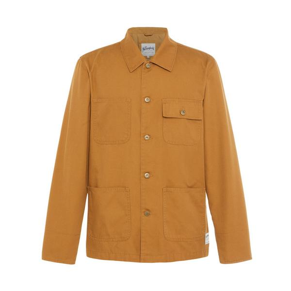 Mustard Canvas Stronghold Worker Jacket