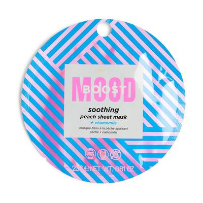 Ps Moodboost Soothing Peach Sheet Face Mask