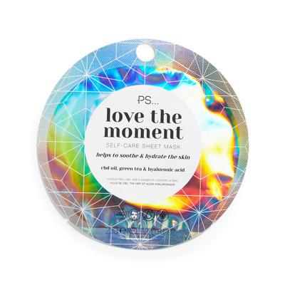 Ps Love The Moment Self Care Sheet Face Mask