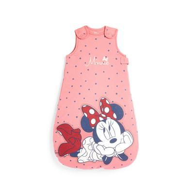 Roze babyslaapzak Minnie Mouse voor pasgeboren meisjes