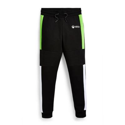 Bas de jogging noir à imprimé Xbox ado