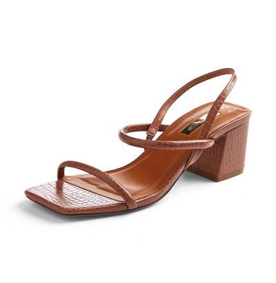 Low Block Heel Sandals